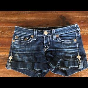 True Religion Jess Big T shorts